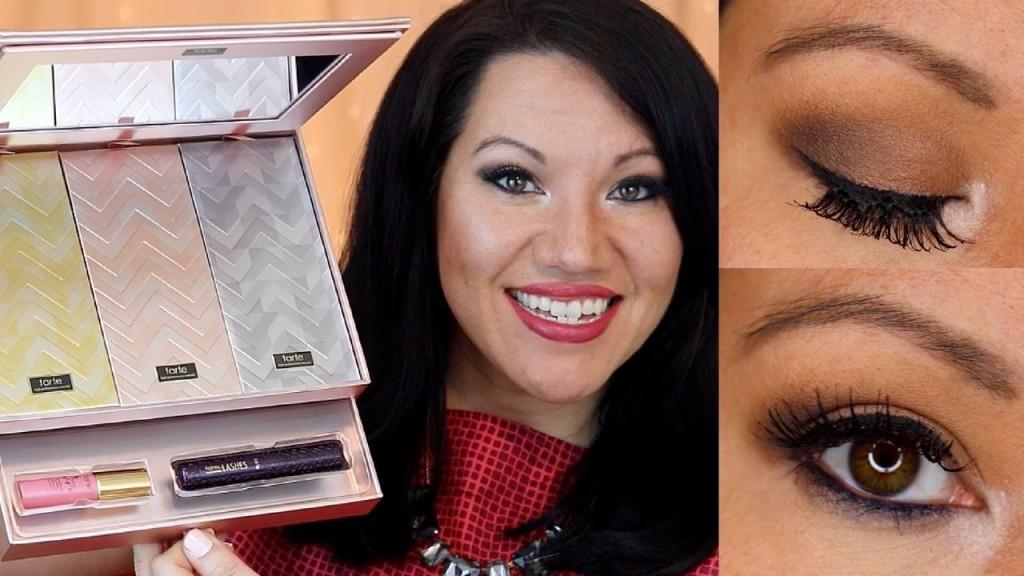 "Smoky ""smokey"" eye look | Tarte Cosmetics Greatest Glitz Collector's Set & Portable Palettes"